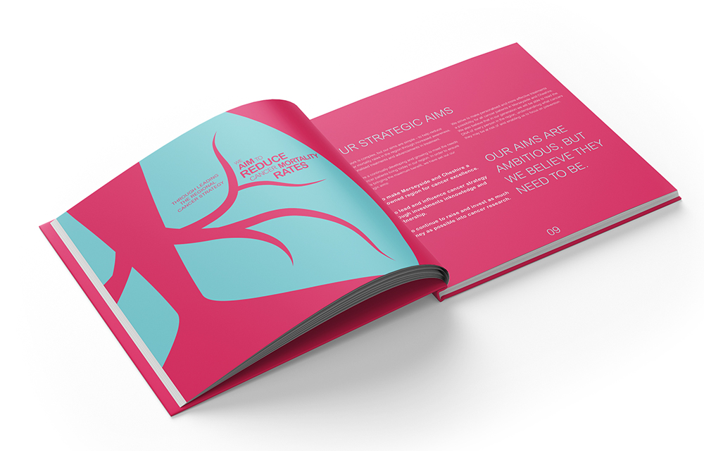 Charity brochure design UK