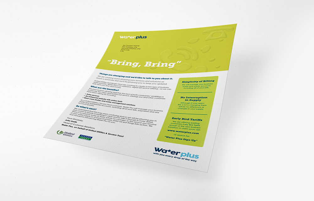 Customer retention direct mail agency