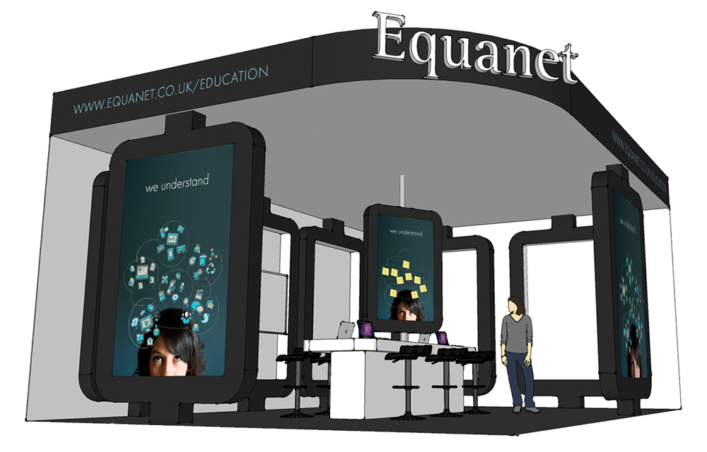 Exhibition stand design North Wales