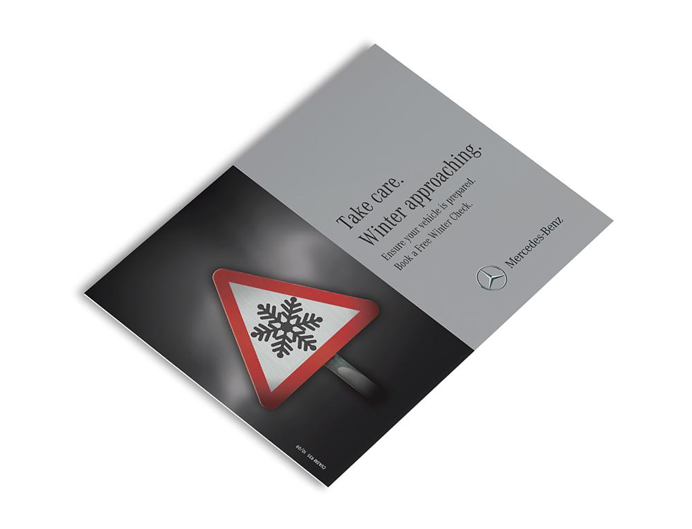 Point of Sale leaflet design